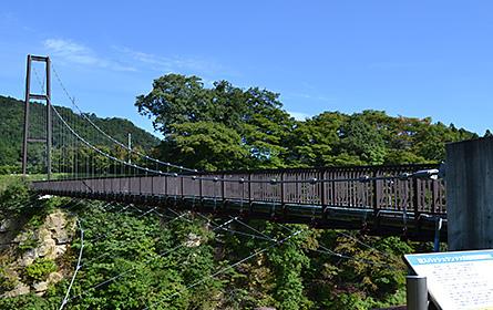 スパッシュランド吊橋